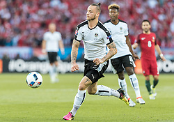 18.06.2016, Parc de Princes, Paris, FRA, UEFA Euro, Frankreich, Portugal vs Oesterreich, Gruppe F, im Bild Marko Arnautovic (AUT) // Marko Arnautovic (AUT) during Group F match between Portugal and Austria of the UEFA EURO 2016 France at the Parc de Princes in Paris, France on 2016/06/18. EXPA Pictures © 2016, PhotoCredit: EXPA/ JFK