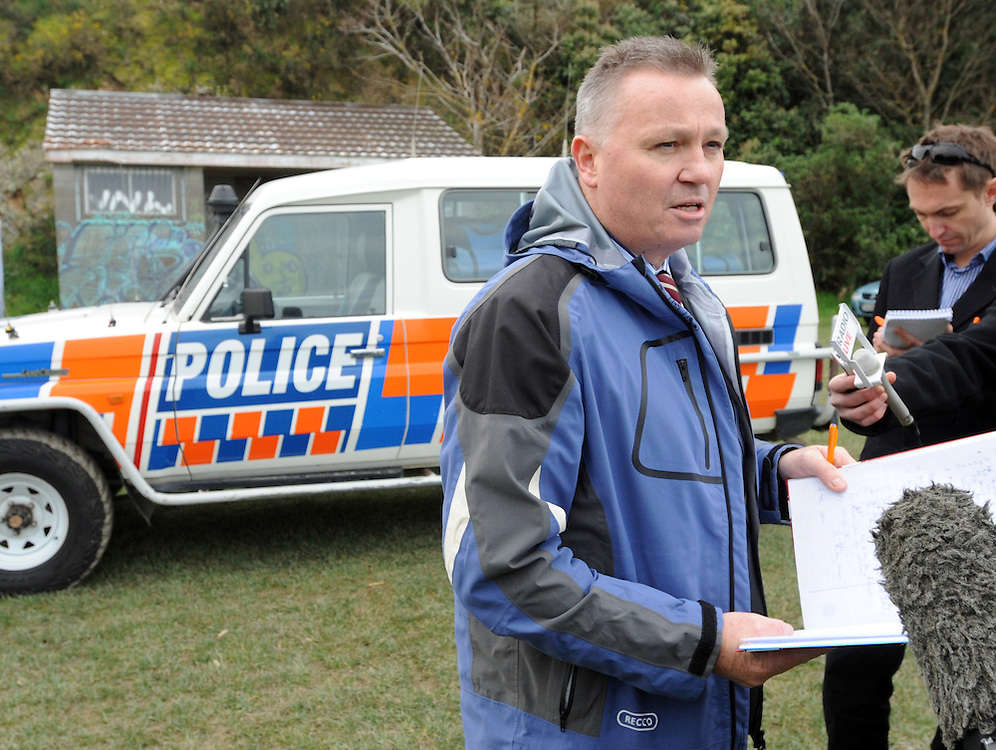 Detective Inspector Paul Basham in charge of an investigation after the body of a woman was found near Alexandra Park, Mt Victoria, Wellington, New Zealand, Monday, July 09, 2012. Credit:SNPA / Ross Setford