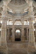 Jain Temple Inside, Ranakpur India