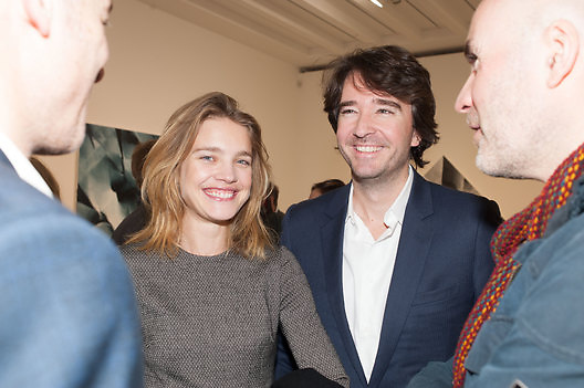 NATALIA VODIANOVA; ANTOINE ARNAULT, This is not an Exit. Mat Collishaw. Blain Southern. Hanover Sq. London. 13 February 2013.