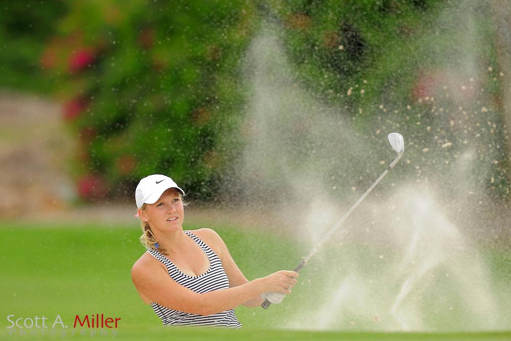 Emily Tate during the second round of the Symetra Tour's Guardian Retirement Championship at Sara Bay in Sarasota, Florida April 27, 2013. ..©2013 Scott A. Miller