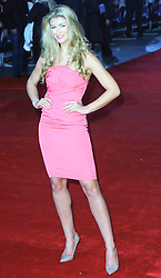 © Licensed to London News Pictures. 20/01/2014, UK. Amy Willerton, Jack Ryan: Shadow Recruit - European Film Premiere, Vue West End, Leicester Square, London UK, 20 January 2014. Photo credit : Richard Goldschmidt/Piqtured/LNP