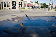 Detroit, craddle of the American car industry has officially filed for bankruptcy. USA Since the economic crisis 2/3rd of it's population has left the city and turned it into a ghost town.