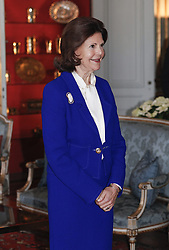 Kˆnigin Silvia bei der Verleihung der Prinz Eugen Medaillen im Schloss in Stockholm / 091216<br /> <br /> ***Presentation of the Prince Eugen Medal in Stockholm, Sweden, Dec. 09th, 2016.***