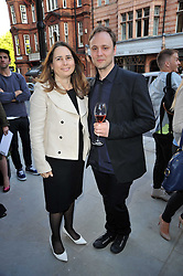 ALEXANDRA SHULMAN and NICHOLAS KIRKWOOD at the opening party for Nicholas Kirkwood's new store at 5 Mount Street, London on 12th May 2011.