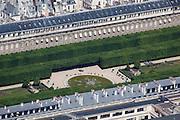 Garden behind the Palais-Royale.