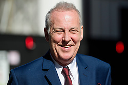 © Licensed to London News Pictures. 22/05/2017. London, UK. Entertainer MICHAEL BARRYMORE leaves The High Court in London, where he is seeking damages after being arrested by Essex police in connection with the death of Stuart Lubbock. Photo credit: Ben Cawthra/LNP