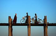 Amarapura. deserted city, Mandalay, Myanmar (Burma).