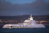Blohm + Voss S99 Sigma visits Monterey Bay