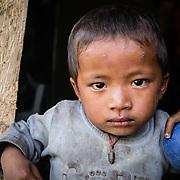 Community member, Lakuri Danda health post, Lakuri Danda, Dolakha, Nepal.