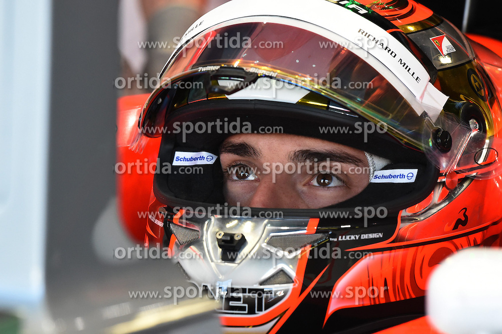 06.09.2014, Autodromo di Monza, Monza, ITA, FIA, Formel 1, Grand Prix von Italien, Qualifying, im Bild Jules Bianchi (FRA) Marussia F1 Team MR03. // during the Qualifying of Italian Formula One Grand Prix at the Autodromo di Monza in Monza, Italy on 2014/09/06. EXPA Pictures &copy; 2014, PhotoCredit: EXPA/ Sutton Images<br /> <br /> *****ATTENTION - for AUT, SLO, CRO, SRB, BIH, MAZ only*****