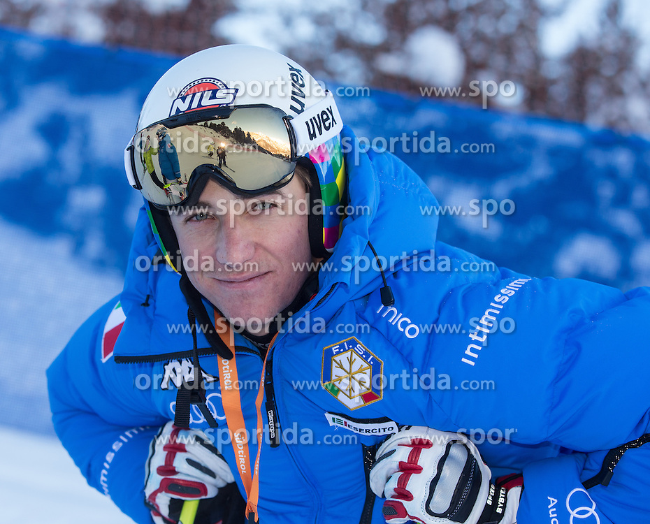28.12.2013, Stelvio, Bormio, ITA, FIS Ski Weltcup, Bormio, Abfahrt, Herren, 2. Traininglauf, Streckenbesichtigung, im Bild Siegmar Klotz (ITA) // Siegmar Klotz of Italy during the course inspection of mens 2nd downhill practice of the Bormio FIS Ski Alpine World Cup at the Stelvio Course in Bormio, Italy on 2012/12/28. EXPA Pictures © 2013, PhotoCredit: EXPA/ Johann Groder