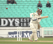 Rory Burns of Surrey County Cricket Club during the LV County Championship Div Two match at the Kia Oval, London<br /> Picture by Mark Chappell/Focus Images Ltd +44 77927 63340<br /> 26/04/2015