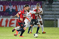 FOOTBALL - FRENCH CHAMPIONSHIP 2011/2012 - CLERMONT FOOT v CS SEDAN  - 4/05/2015 - PHOTO EDDY LEMAISTRE / DPPI -  ROMAIN ALESSANDRINI (CFA)