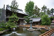 Tempel nummer 1, Ryōzen-ji (霊山寺)<br /> <br /> Pilgrimsvandring till 88 tempel på japanska ön Shikoku till minne av den japanske munken Kūkai (Kōbō Daishi). <br /> <br /> Fotograf: Christina Sjögren<br /> Copyright 2018, All Rights Reserved<br /> <br /> The first temple Ryōzen-ji (霊山寺) of the Shikoku Pilgrimage, 88 temples associated with the Buddhist monk Kūkai (Kōbō Daishi) on the island of Shikoku, Naruto,Tokushima Prefecture, Japan<br /> <br /> Photographer: Christina Sjögren<br /> Copyright 2018, All Rights Reserved