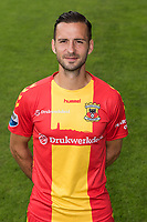 Tom Daemen during the team presentation of Go Ahead Eagles on July 15, 2016 at the Adelaarshorst Stadium in Deventer, The Netherlands.