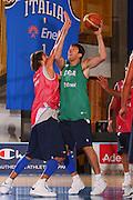 DESCRIZIONE : Bormio Raduno Collegiale Nazionale Maschile Allenamento <br /> GIOCATORE : Andrea Michelori <br /> SQUADRA : Nazionale Italia Uomini <br /> EVENTO : Raduno Collegiale Nazionale Maschile <br /> GARA : <br /> DATA : 22/07/2008 <br /> CATEGORIA : Tiro <br /> SPORT : Pallacanestro <br /> AUTORE : Agenzia Ciamillo-Castoria/S.Silvestri <br /> Galleria : Fip Nazionali 2008 <br /> Fotonotizia : Bormio Raduno Collegiale Nazionale Maschile Allenamento <br /> Predefinita :