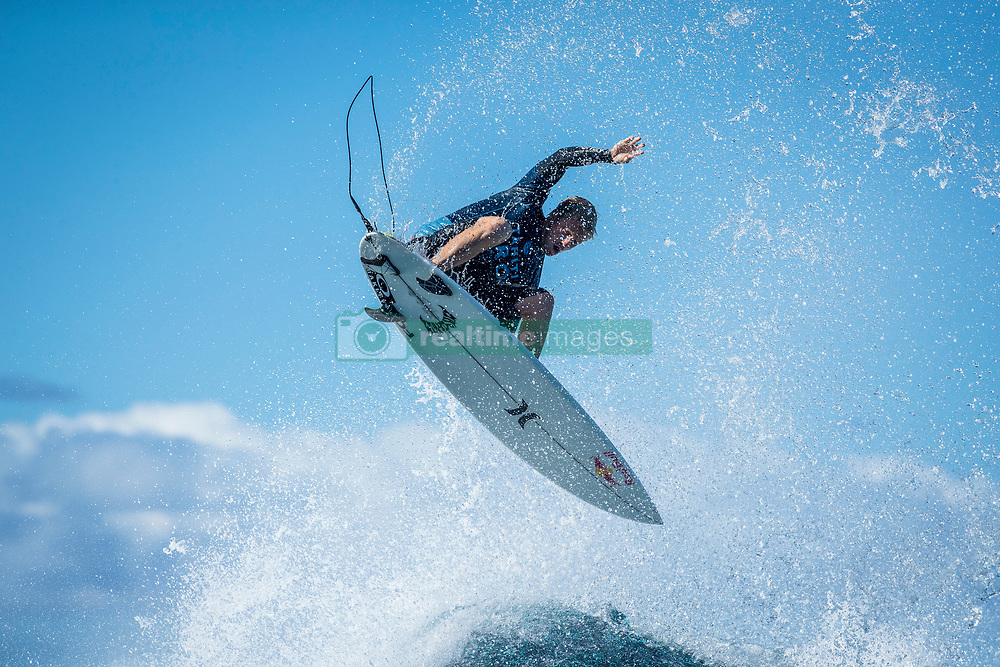 Kolohe Andino (USA)  ranked equal 5th after placing 2nd in  Quarters 4 at the Tahiti Pro 2018 ,Teahupoo, French Polynesia