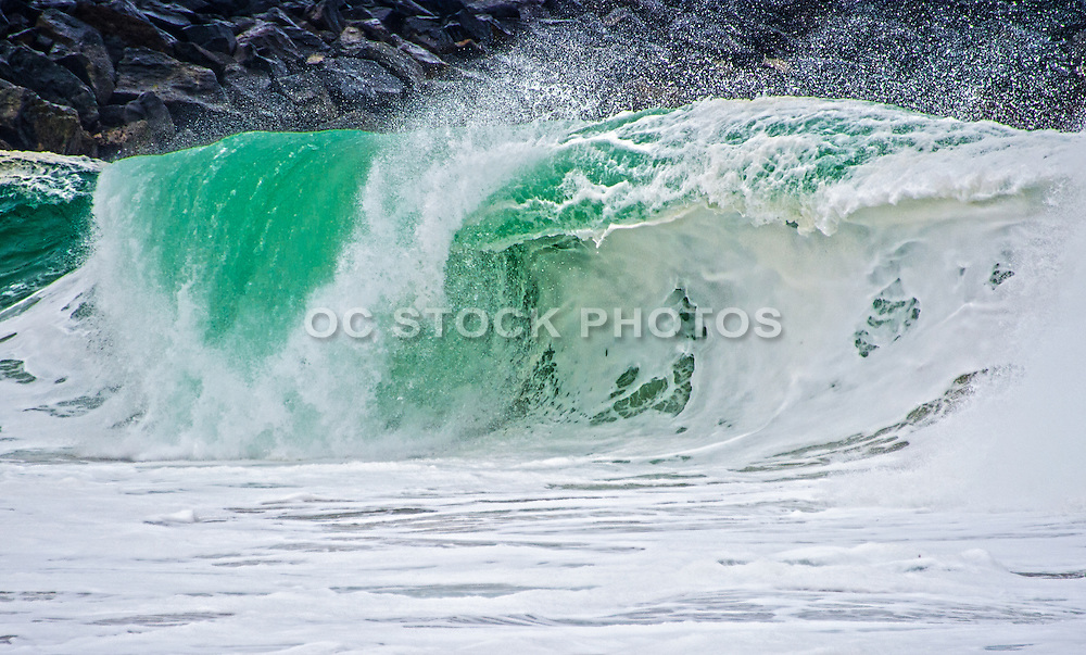 Waves of SoCal Stock Photo