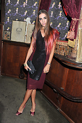 AMBER LE BON at a party tocelebrate the launch of Diesel's new female fragrance 'Loverdose' held at The Box, 11-12 Walkers Court, Brewer Street, London on 7th September 2011.