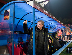BUCHAREST, ROMANIA - Thursday, December 2, 2010: Liverpool's manager Roy Hodgson before the UEFA Europa League Group K match against FC Steaua Bucuresti at the Stadionul Steaua. (Pic by: David Rawcliffe/Propaganda)