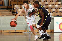 Vlado Ilievski at Pre-season basketball tournament between Union Olimpija, Ljubljana, and Fenerbahce Ulker, Istanbul, on September 26, 2008, in Arena Tivoli in Ljubljana. Match was won by Union Olimpija 74:57. (Photo by Vid Ponikvar / Sportal Images)