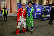 Arsenal fan in fancy dress during the 2019 William Hill World Darts Championship Final at Alexandra Palace, London, United Kingdom on 1 January 2019.