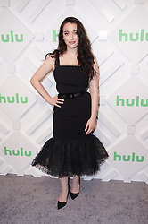 Kat Dennings at the 2019 Hulu Upfront in New York City.