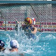 Orange Cougars Women's Water Polo versus Saddleback Women's team at the Women's Water Polo Championships held at Saddleback College