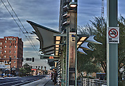 Lightrail station, Downtown Phoenix, Az
