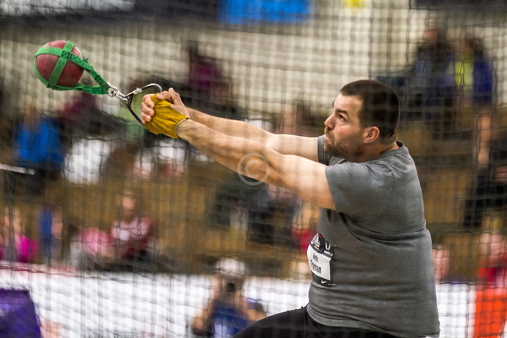 USATF Indoor Track & Field Championships: mens weight throw, Andy Fryman