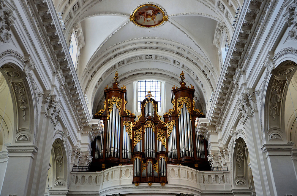 Cathedral of St. Ursus Organ in Solothurn, Switzerland<br />