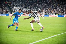 April 22, 2018 - Turin, Piedmont/Turin, Italy - Blaise Matuidi durig the Serie A match Juventus FC vs Napoli. Napoli won 0-1 at Allianz Stadium, in Turin, Italy 22nd april 2018 (Credit Image: © Alberto Gandolfo/Pacific Press via ZUMA Wire)