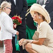 NLD/Amsterdam/20150829 - Maxima bezoekt Stichting Opkikkerdag 2015 in Amsterdam,