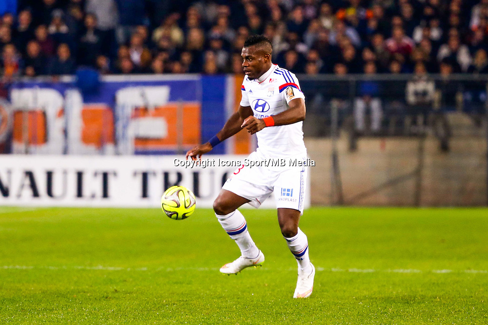 Henri Bedimo - 08.03.2015 -  Montpellier / Lyon  -  28eme journee de Ligue 1 <br />
