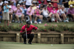 May 13, 2018 - Ponte Vedra Beach, FL, USA - The Players Championship 2018 at TPC Sawgrass..Tiger Woods on #16 green (Credit Image: © Bill Frakes via ZUMA Wire)