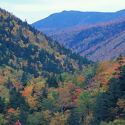 Fall Foliage in the notch.  White Mountain N.F.  Crawford Notch State Park, NH