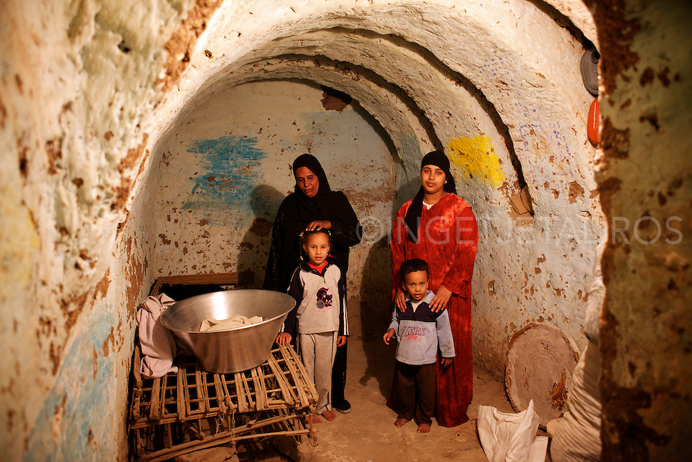 Family in Luxor still living in old tombs from the Pharaohs 2011, Valley of the Kings.<br />  Captured moments while i lived and travelled through Egypt.