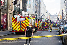 2019-06-06 London Fire Brigade attends fire in Mayfair