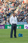 Highlanders Head Coach JAMIE JOSEPH before the Natixis Cup rugby match between French team Racing 92 and New Zealand team Otago Highlanders at Sui San Wan Stadium in Hong Kong