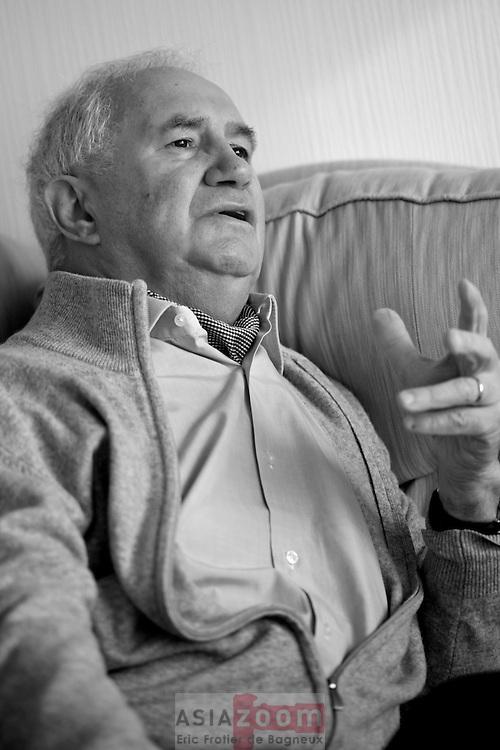 Seance de portrait a Concarneau de Jean Paul Ollivier alias Paulo la Science, pour le magazine Bretons.