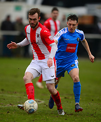 SHANE BYRNE BRACKLEY TOWN, Brackley Town v Harrogate Town Vanarama National League North, St James Park Good Friday 30th March 2018, Score 0-0.