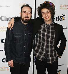 © Licensed to London News Pictures. 16/03/2015, UK. Dru Wakely & Stefan Abingdon, Chortle Comedy Awards, Jongleurs Camden, London UK, 16 March 2014. Photo credit : Brett D. Cove/Piqtured/LNP