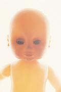 baby doll in a hazy light