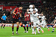 No Goal - Dominic Solanke (9) of AFC Bournemouth scores a goal to give a 2-0 lead but it is ruled offside by VAR during the The FA Cup match between Bournemouth and Luton Town at the Vitality Stadium, Bournemouth, England on 4 January 2020.