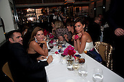 NATHALIE MASSANET; VICTORIA BECKHAM Dinner hosted by editor of British Vogue, Alexandra Shulman in association with Net-A-Porter.com in honour of 25 years of London Fashion Week and Nick Knight. Caprice. London.  September 21, 2009