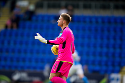 Falkirk's keeper Danny Rogers. St Johnstone 3 v 0 Falkirk, Group B, Betfred Cup, played 23/7/2016 at St Johnstone's home ground, McDiarmid Park.