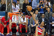 Washington Wizards Trevor Ariza (1) during the NBA London Game match between Washington Wizards and New York Knicks at the O2 Arena, London, United Kingdom on 17 January 2019.