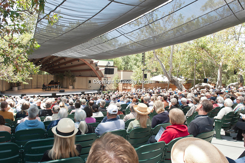 """Leif Ove Andsnes performs Beethoven's Piano Sonata in C Major, Op. 53, """"Waldstein"""" at the 66th Ojai Music Festival on June 9, 2012 in Ojai California."""