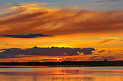 Sunset over the Northumberland Strait<br />